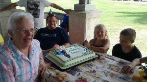 Joyce's 80th and Kiera's 7th