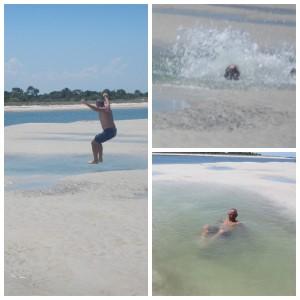Sandbar fun, Mantanzas Inlet 2015_06_16