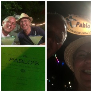 2015_10_23 Pablo's Mexican Grill, Organic Margaritas and over the top food
