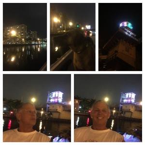 Hollywood boat ride