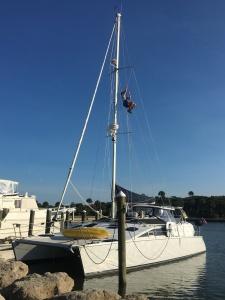 2015_10_28 Steve mast climbing