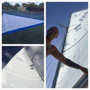 New sails for Christmas