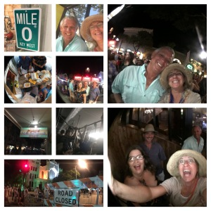 Bringing in the 2016 in Key West with Gary and Georgette.