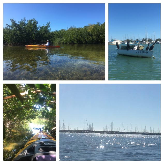 Kayaking Boot Key Harbor