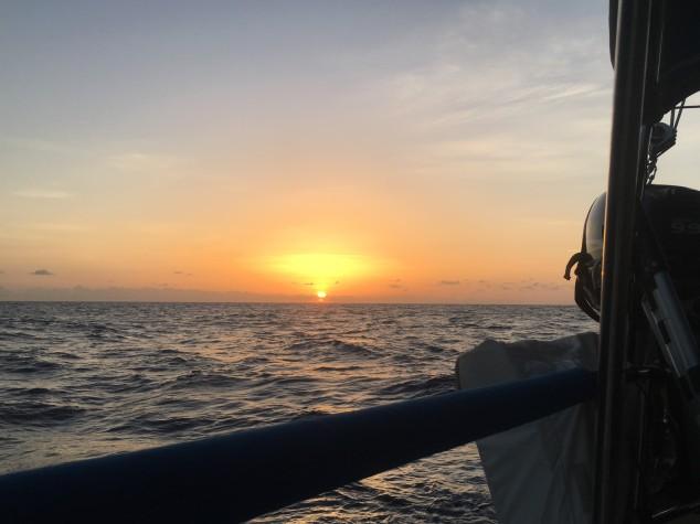 1 IMG_0977 Sunrise leaving Grand Cay