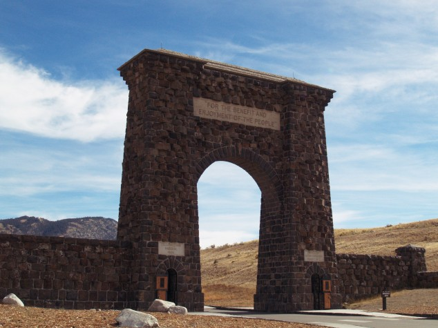 North Gate, Yellowstone National Park