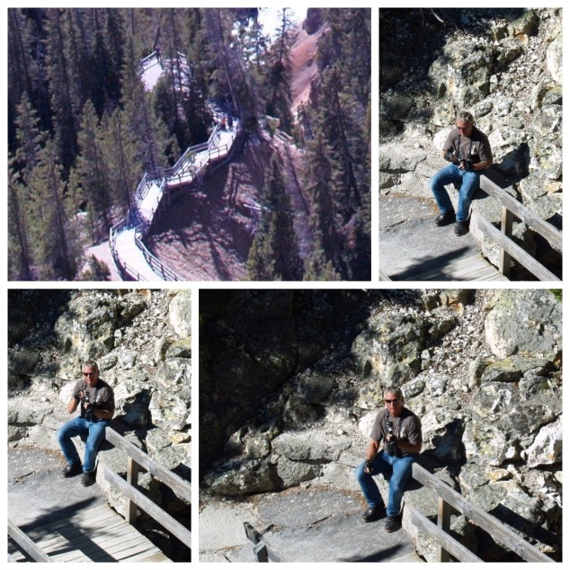 Hiking to Lower Tower Falls, Yellowstone National Park