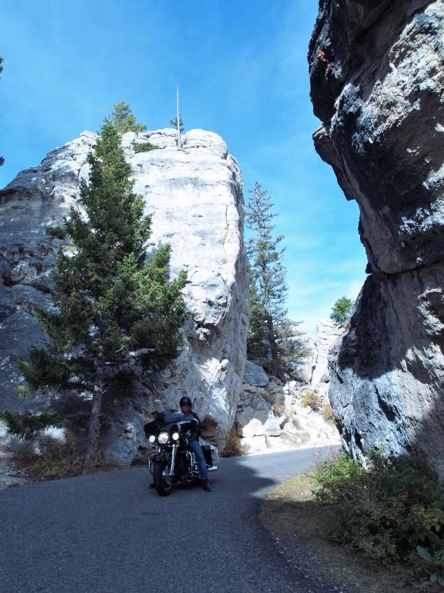 Motorcycling Yellowstone